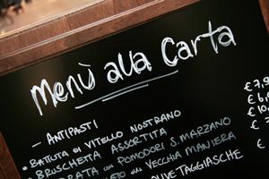 menu-à-la-carta